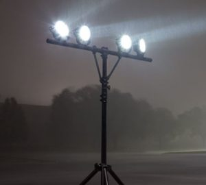 Work Light Tripod Stand Is Ideal For Construction Site