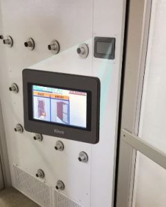 Air Showers Feature Touchscreen Controls Retrofit