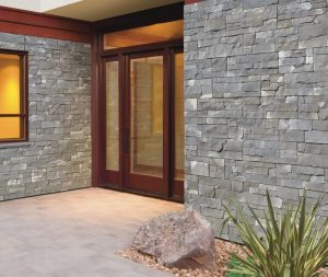 No Mortar Is Required for Exterior Stone Cladding Panels - retrofit