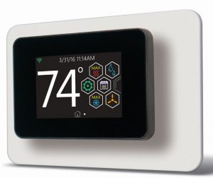Touch-screen Thermostat Uses Smart Technology