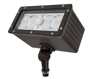 Knuckle mount led flood light provides aimable illumination retrofit knuckle mount led flood lights can be installed in outdoor junction boxes that have half aloadofball Images