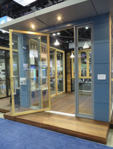 Pivot Door Allows More Glass And Light Retrofit