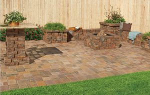 Pavestone Patio Stones And Pavers Construct Outdoor Living Features.