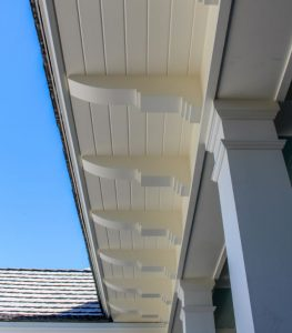 Pvc Soffit System Resembles Traditional Coastal Style