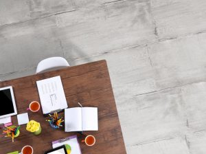 The ROAD Collection glazed porcelain tile offers a mixture of both textile and cement looks.