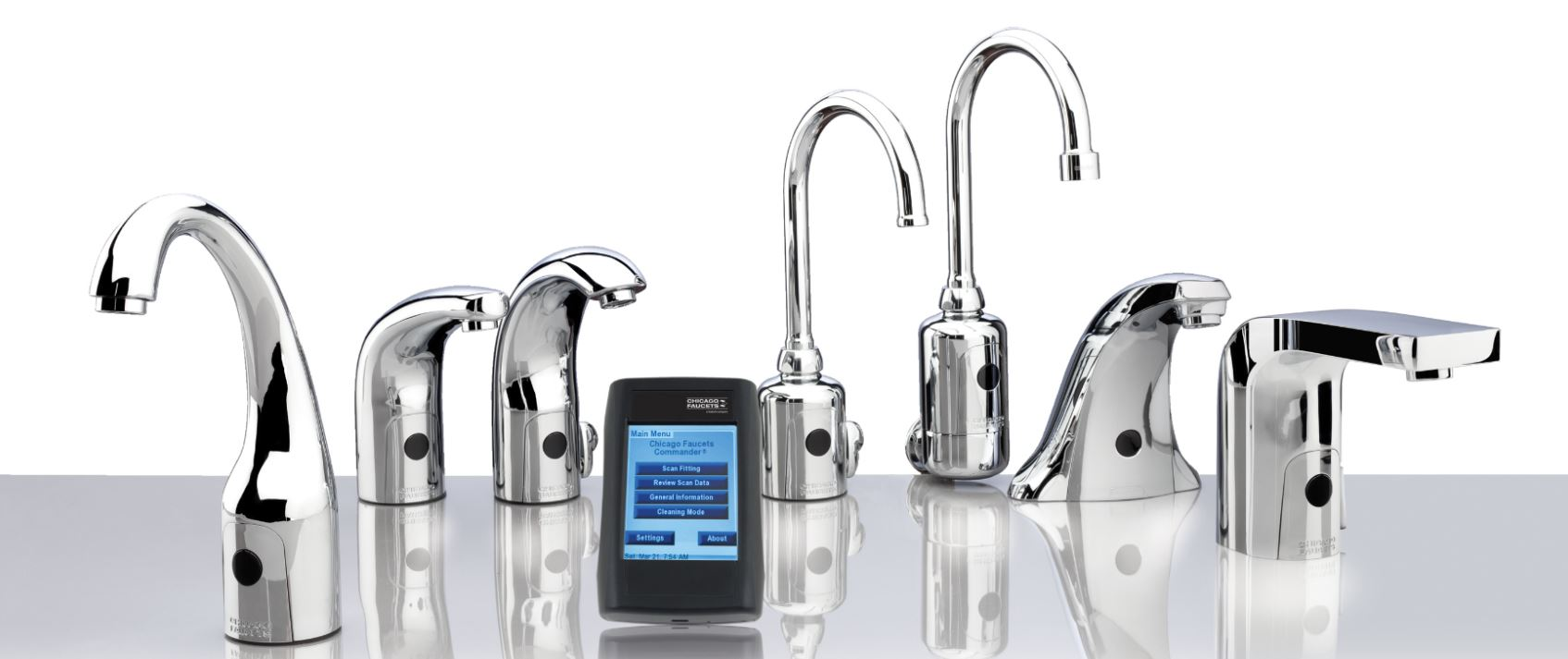 Electronic Sensor Faucets Offer 1 5 Gpm Flow Rate Insert