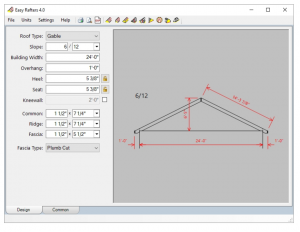 Roof design software is interactive retrofit for Hip roof design software