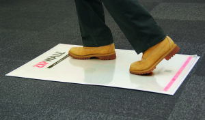 ZipWall has introduced the ZipWall Mat, its latest addition to the comprehensive ZipWall Dust Barrier System.