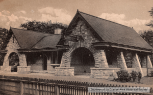 Working with the La Grange Area Historical Society, the village located plans, postcards and photographs of the original station to assist with the renovation design.