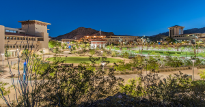 The results of connecting the University of Texas at El Paso campus back to its place in the Chihuahuan Desert helps instill pride in students and staff and community of their campus and heritage. PHOTO: Adam Barbe
