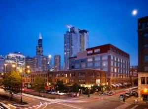 Soho House Chicago opens as a 40-room hotel and private members' club. The transformation of the industrial building lasted 14 months.