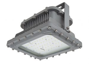 The explosion-proof LED light is ideal for use in hazardous locations and for marine applications.