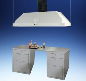 Canopy Hoods Collect And Exhaust Vapors Heat And Steam