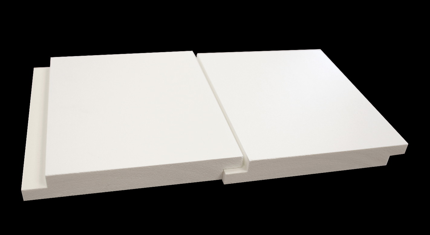 Shiplap Nickel Gap Boards Are Pvc Retrofit