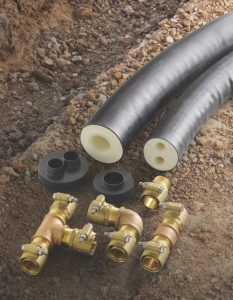 Pre Insulated Piping System Reduces Heat Loss Retrofit