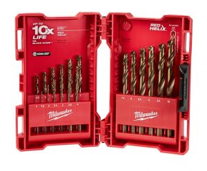 The line of SHOCKWAVE Titanium RED HELIX Impact Duty bits and Cobalt RED HELIX drill bits are now available in metric.